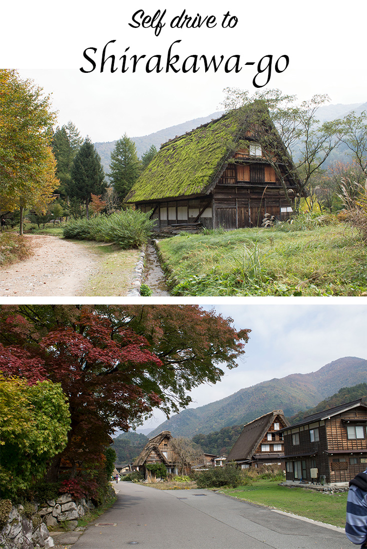 self drive to Shirakawa-go