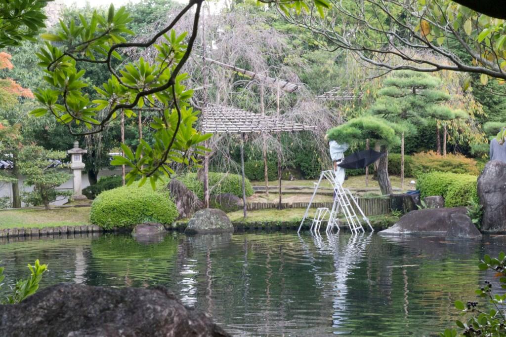 Gardener in Japan
