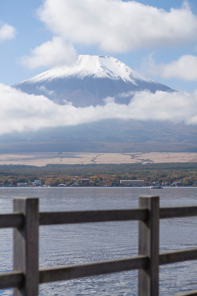 Mt. Fuji from Lake Yamanaka