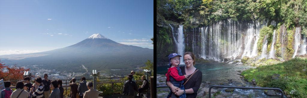 Japan Mount Fuji itinerary