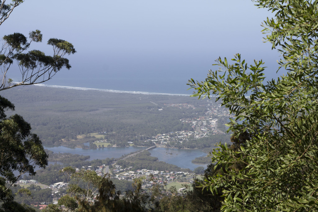 North Brother lookout, Melbourne to gold coast