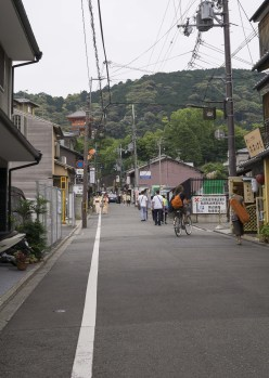 street to Kiyomizudera