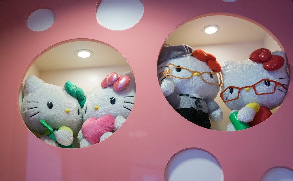 Hello Kitty cafe Japan