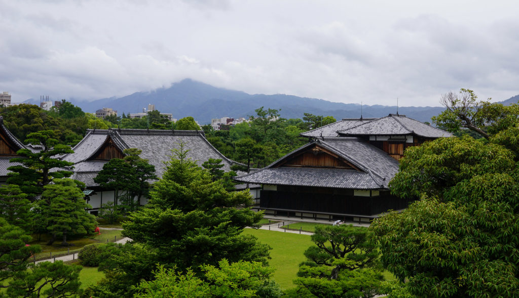 Nijo Castle view