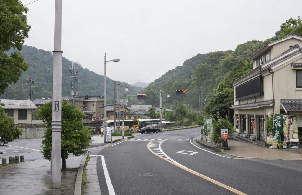 Walking Byodoin to Uji Station