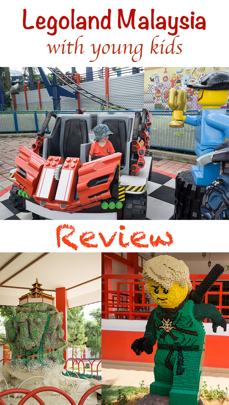 Legoland Malaysia with young kids review