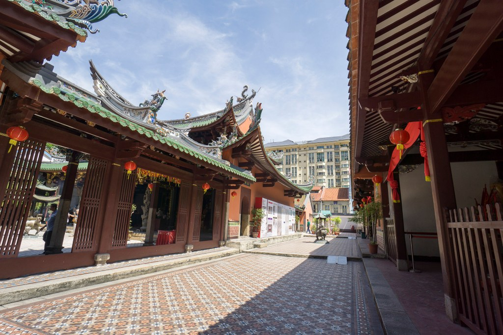 Thian Hock Temple in Singapore