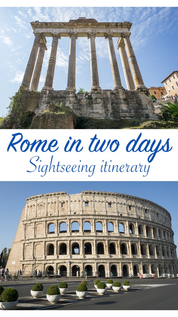 Rome in two days sightseeing