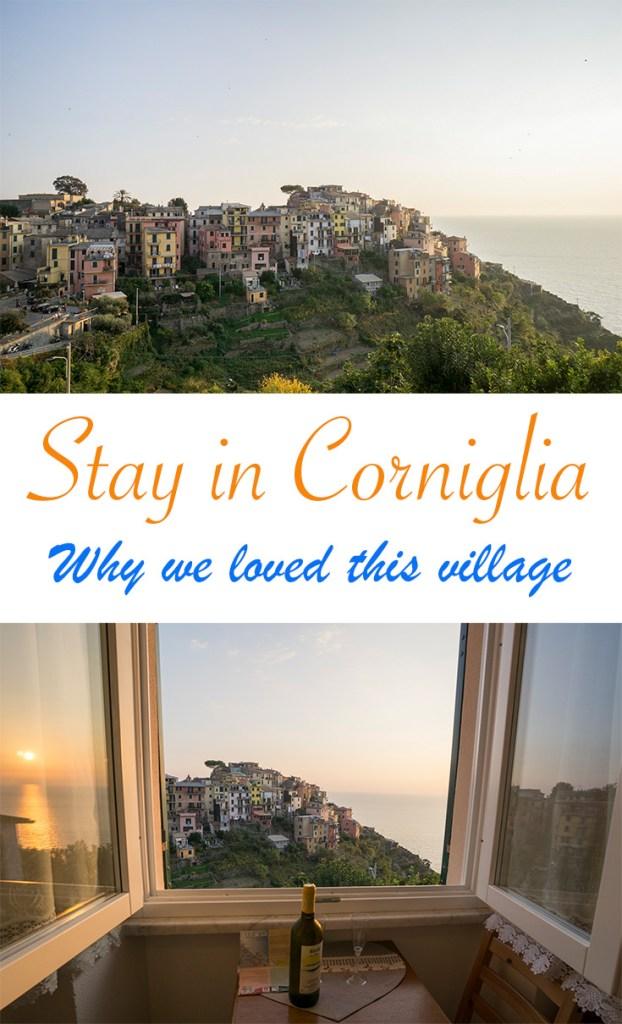 Stay in Corniglia Cinque Terre