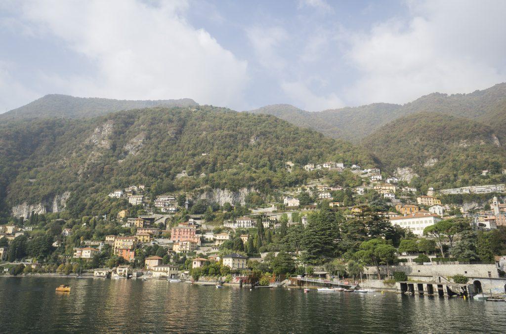 Moltrasio Lake Como Boat