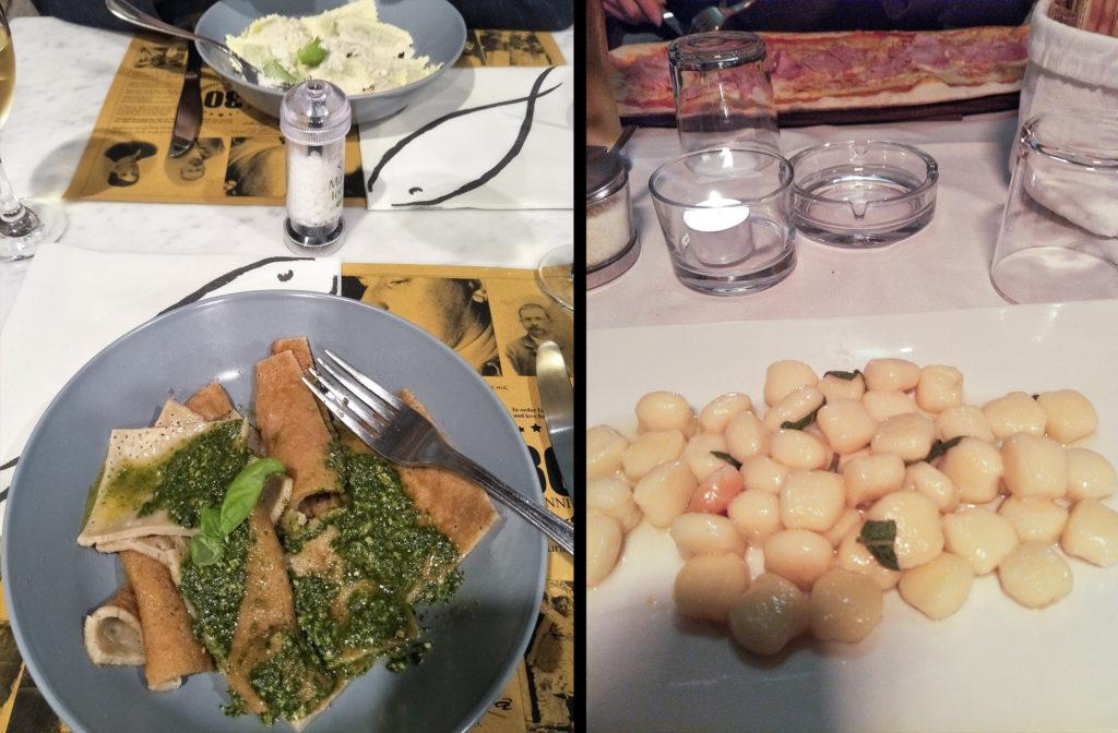 Dinner in Italy