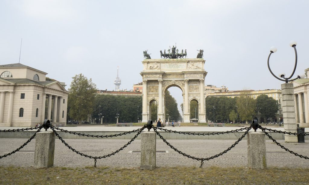 Arco della Pace, Milan itinerary one day