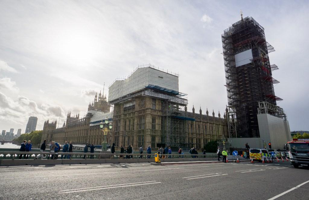 Big Ben restoration