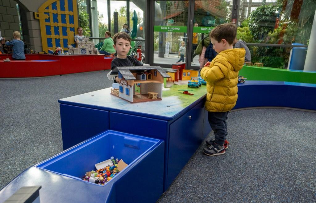 Indoor Playmobil funpark