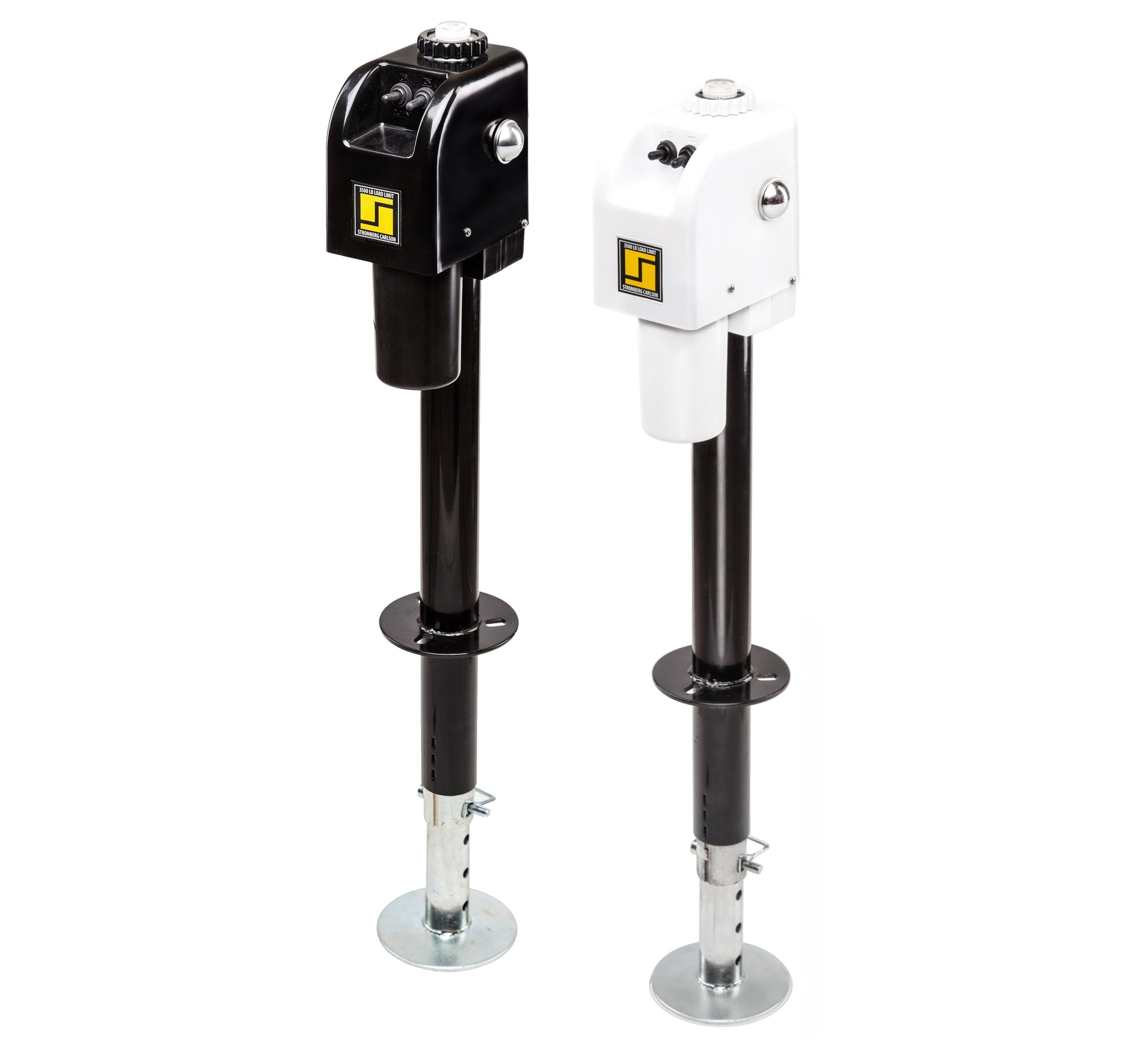 hight resolution of 3500 lb standard electric tongue jack repair parts stromberg carlson products inc