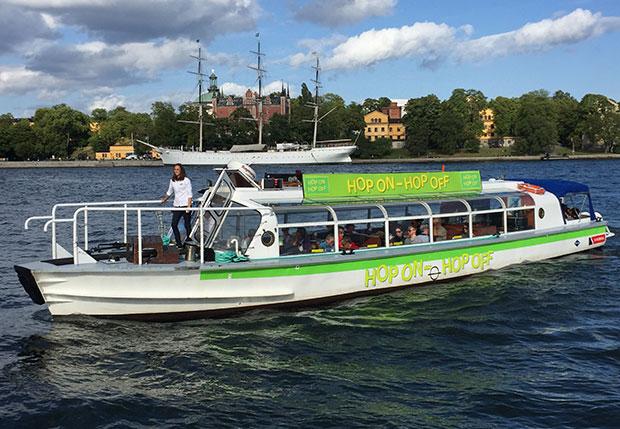 Hop On Hop Off Boat  Stockholm  Strommase