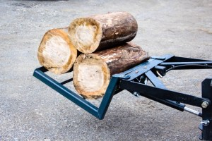 Log and bag loader attachment