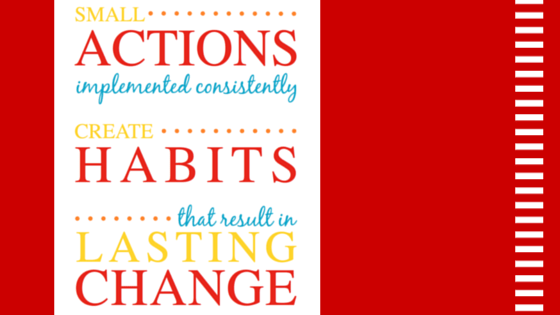 From Small Actions to Lasting Change