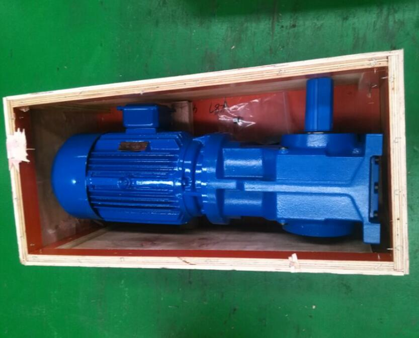 helical bevel angle gear motor