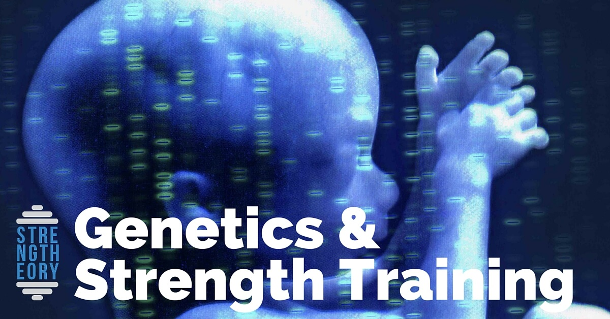 What is the relationship between genetics and strength training?