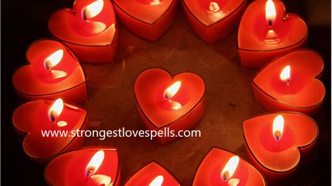 Red Candle Come Back To Me Love Spell