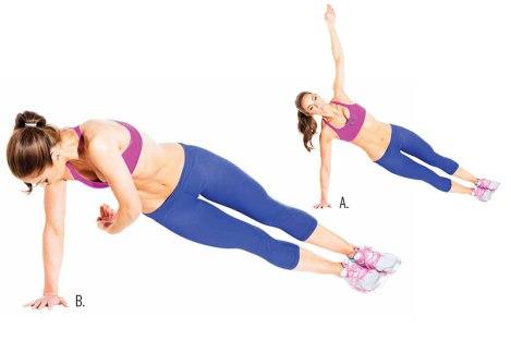 Image result for Side Plank Twist