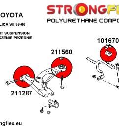 94 bmw 740il rear suspension diagram [ 1200 x 1200 Pixel ]