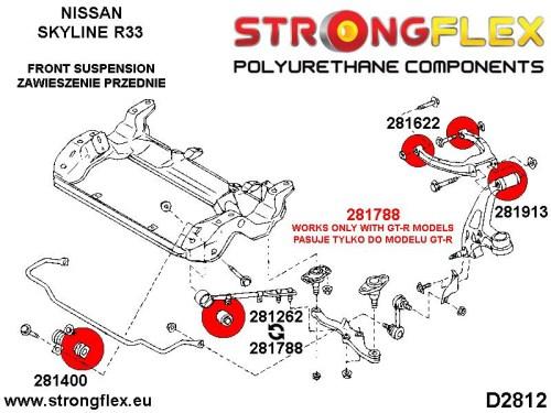 small resolution of 031248b front anti roll bar bush 21 5 30 8mm polyurethane strongflex eu