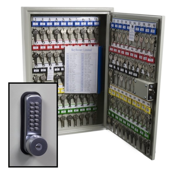 Keysecure Security Key Cabinet With Euro Cylinder Lock - Year of