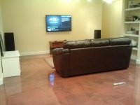 Basement Floor Coatings | Basement Floors | Stronghold Floors