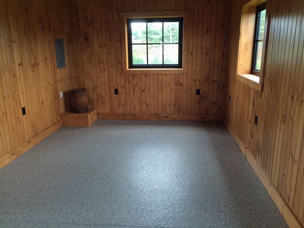 Clarksville MD  Epoxy Coatings in Barn Garage
