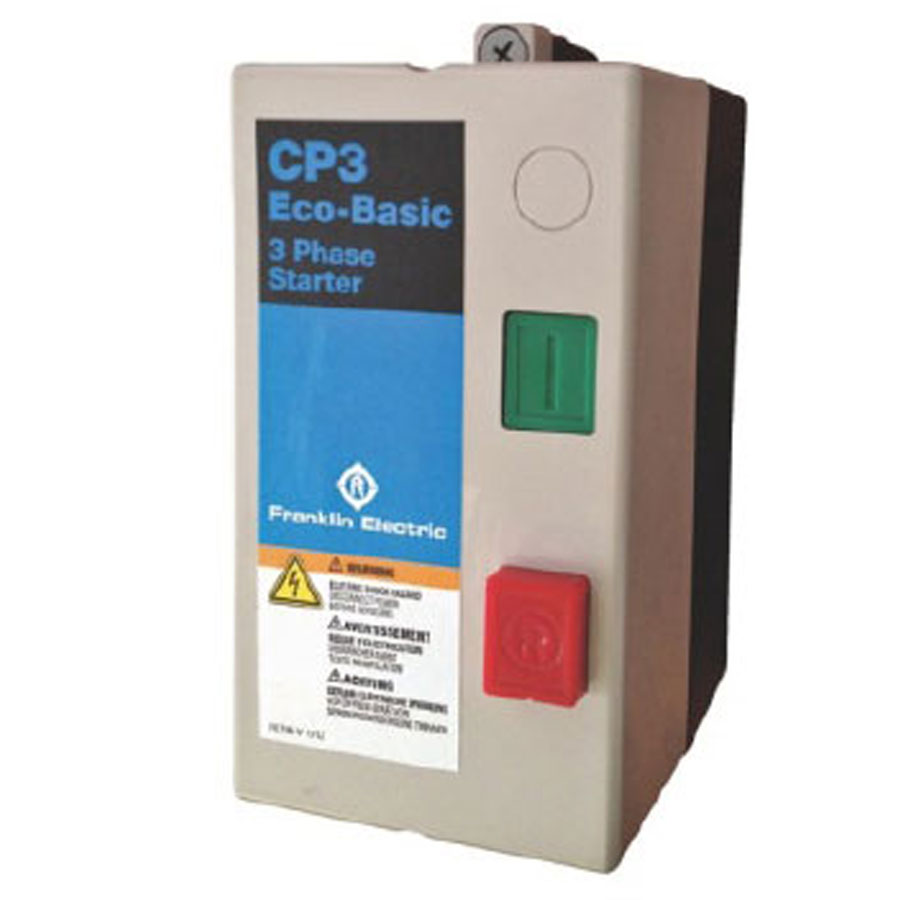 Franklin Electric 3 Three Phase Starter Contactor 5 5kw
