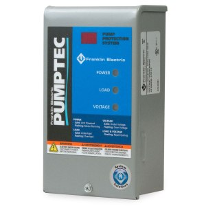Franklin Electric single phase motor protection device. Franklin electric Pumptec IR