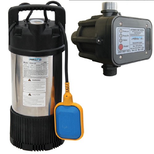 automatic submersible drainage pump RHS125
