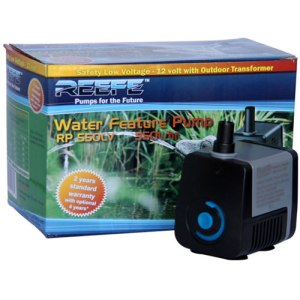 Low Voltage fountain and Hydroponics Pond Pump