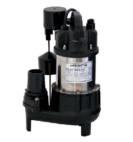 Solar Powered Vortex Sump Pump, 24V DC Vortex Sewage Pump