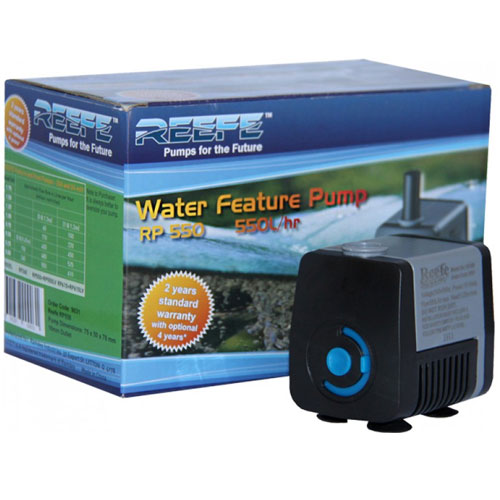 RP550 240 Volt Garden Pond and Water Feature Pump