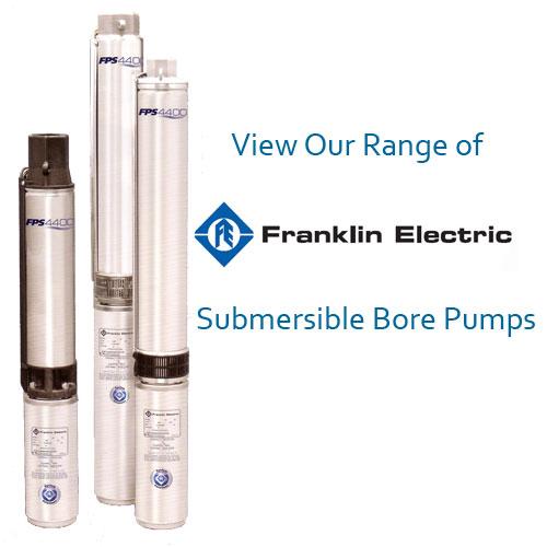 Franklin Electric range bore pumps