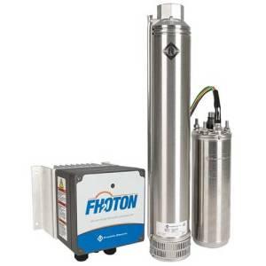 fhoton solarpak solar bore pump