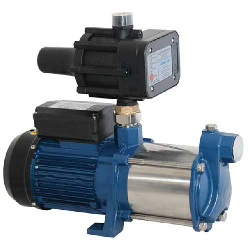 PRM140 multistage pressure pump with pressure controller