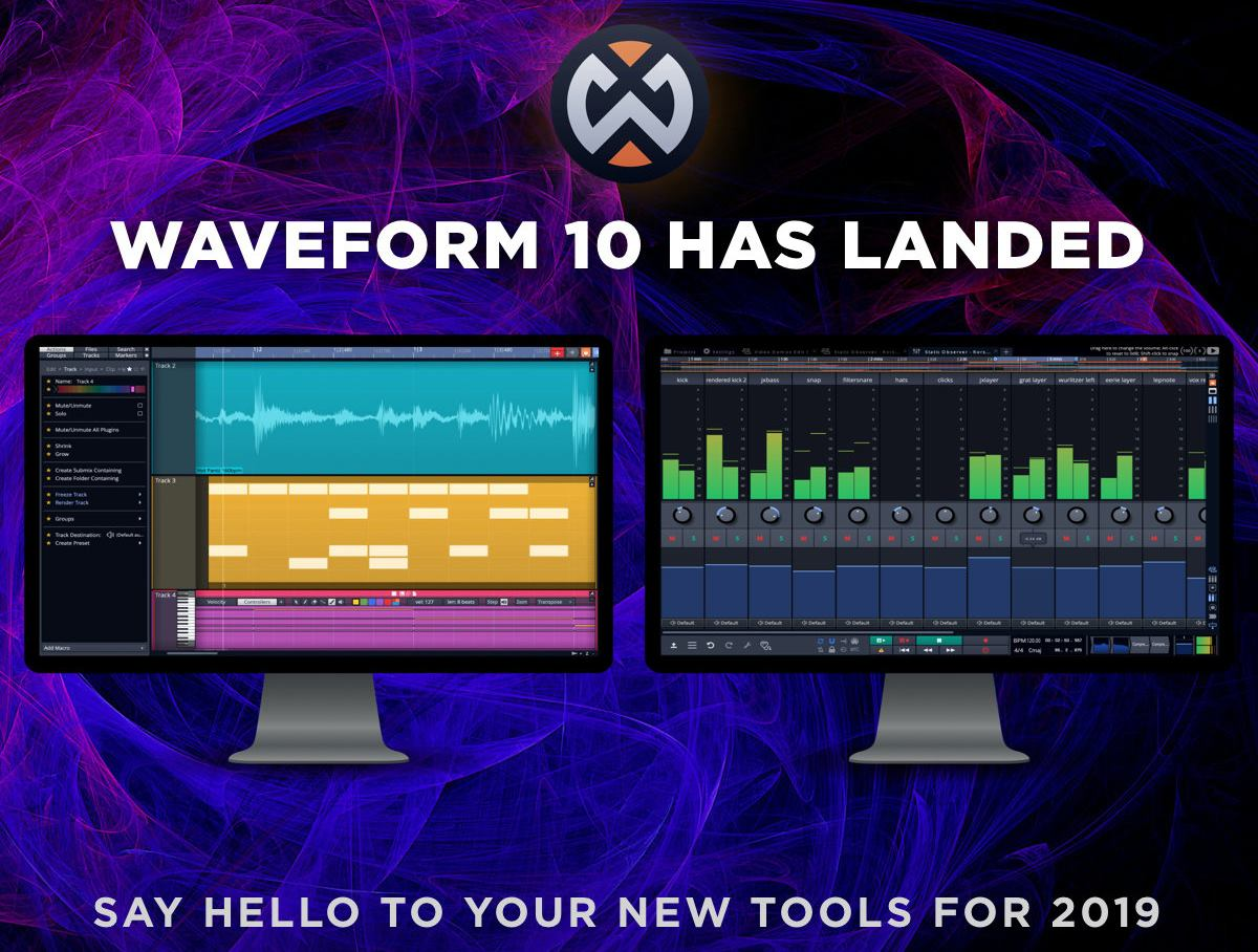 Tracktion's Waveform 10 DAW Released | StrongMocha