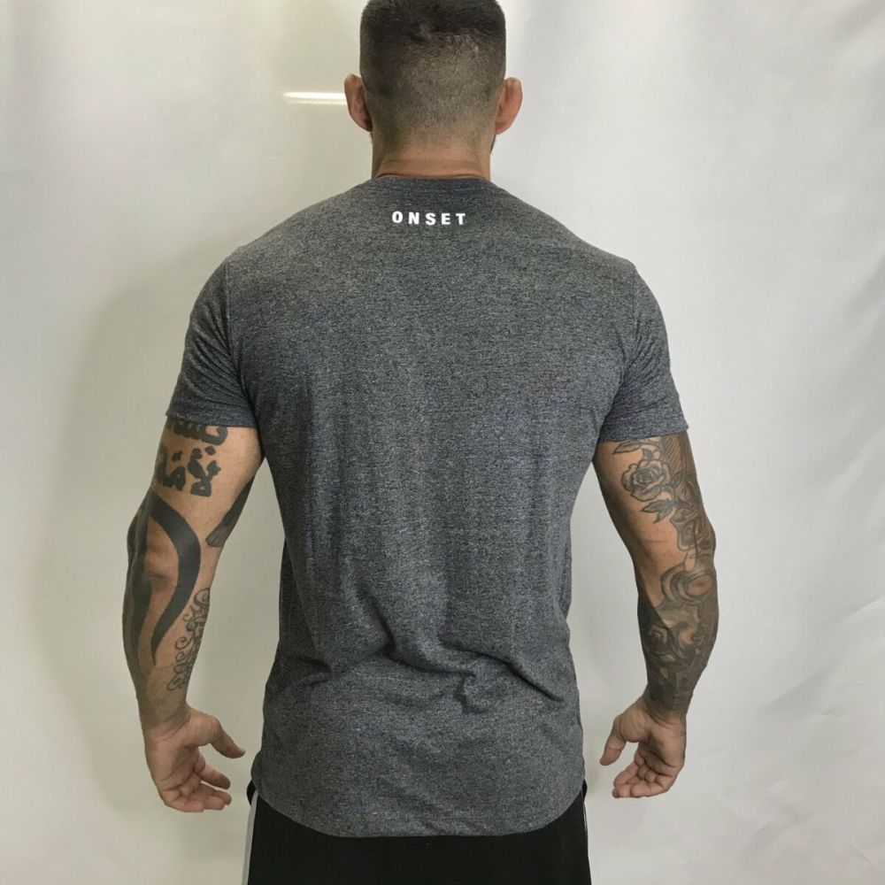 CAMISA ONSET FITNESS - WEIGHTLIFTING MESCLA