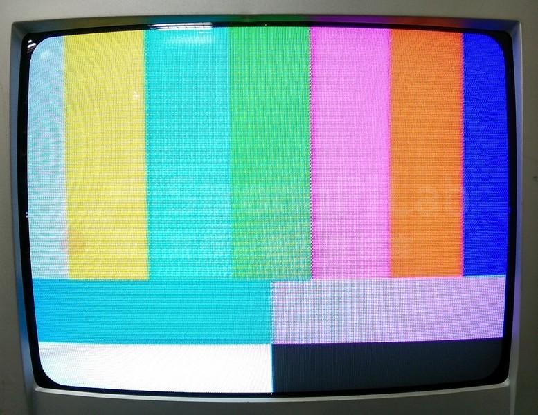 AV端子-電視畫面-測試訊號