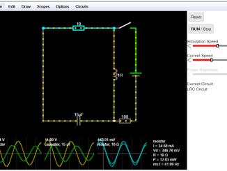 電路模擬-falstad