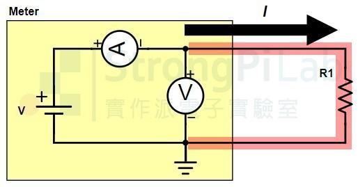 電阻測量的線路