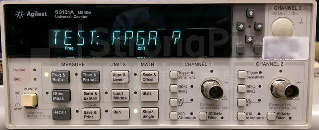 Counter FPGA fail