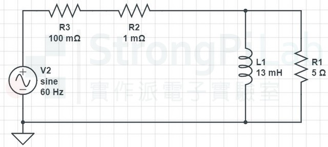 Fig 1. Inductive load circuit