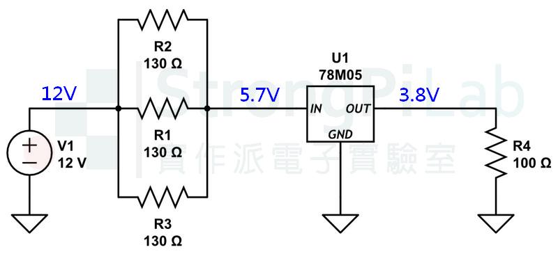 78M05整流器的輸出電壓不正常