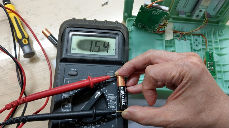 先確認電池試正常的