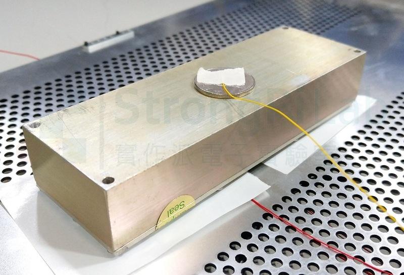 把金屬間的距離縮減為一張紙的厚度